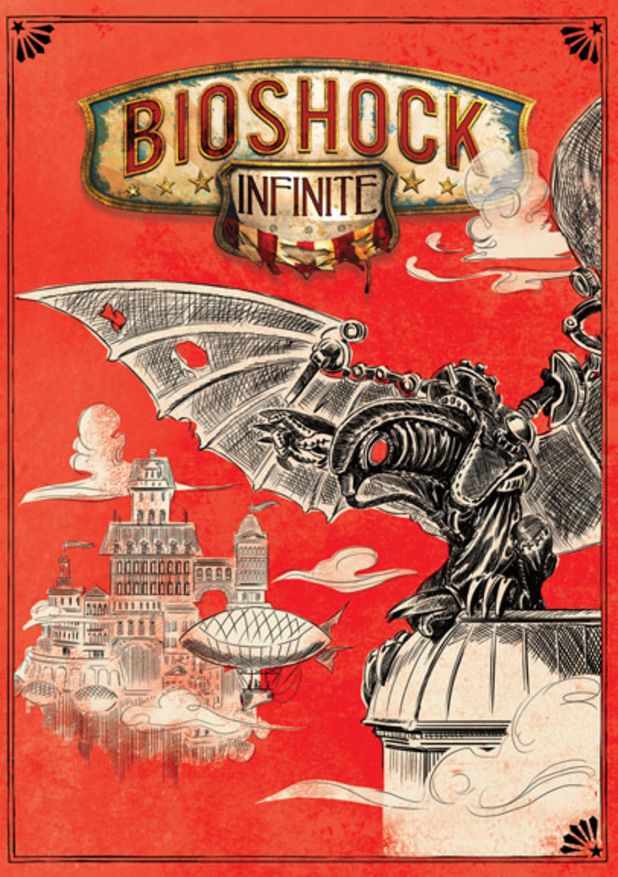 'Bioshock Infinite' reversible covers: Design #4