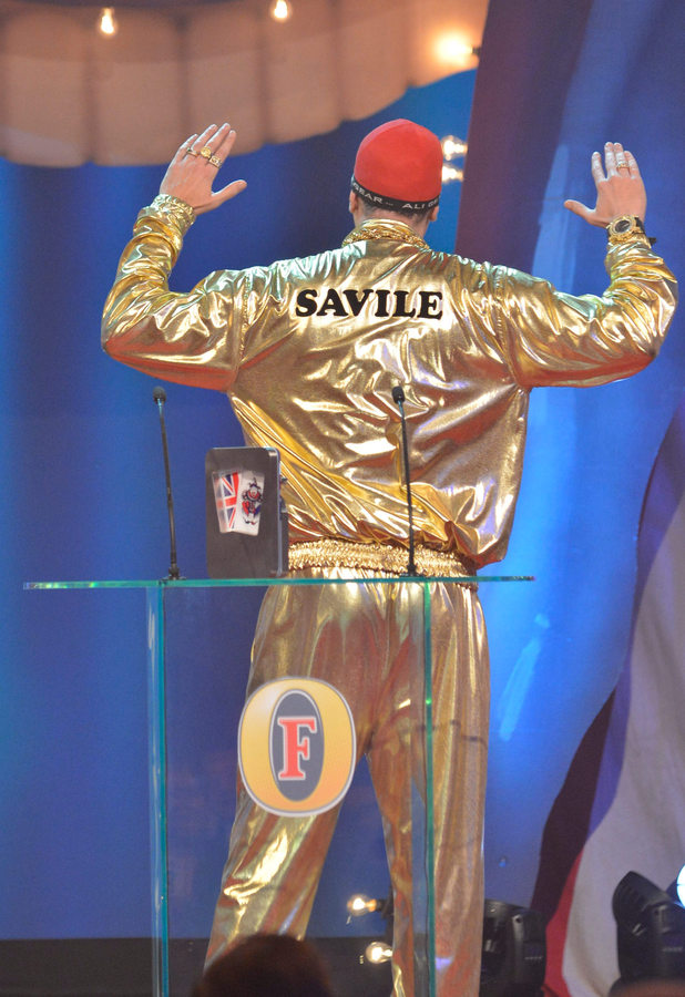 Sacha Baron Cohen, Comedy Awards 2012