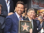 Hugh Jackman Walk of Fame star pictures
