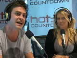 Mel Greig and Michael Christian on air at 2DayFM