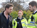 6434: Cameron covers his van's been nicked and panics when he's forced to relay his lie to the police that Cain and Debbie might be behind it.