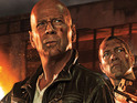 Film's second promo image shows Bruce Willis and Jai Courtney as father and son.