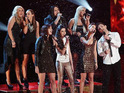 Three singers will go forward to compete for the title, as one act says farewell.