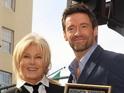 The Wolverine star divulges painful time from couple's past.