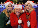 Fearne Cotton and Aston from JLS get special festive treats from Keith Lemon.