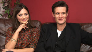 The Doctor and his new assistant chat to Digital Spy