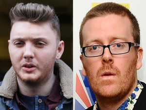James Arthur, Frankie Boyle