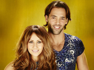 Dancing On Ice 2013: Samia Ghadie and Sylvain Longchambon