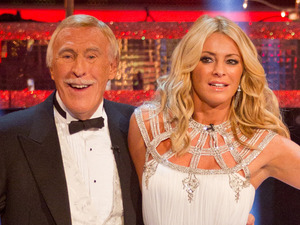 Strictly Come Dancing 2012 Christmas Special:  Tess Daly and Bruce Forsyth