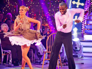 Strictly Come Dancing 2012 Christmas Special: CAliona Vilani, Fabrice Muamba