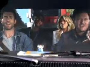 The Voice promo featuring Usher