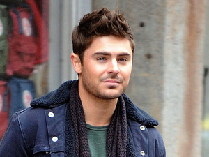 Zac Efron, 'Are We Officially Dating' on set filming, New York, America