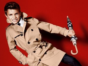 Romeo Cruz Burberry advert