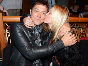 Jamie Hince and Kate Moss at 'Oliver Twisted' Portobello Panto 2012 at The Tabernacle, London,