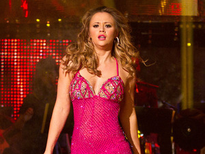 Kimberley Walsh on Strictly Come Dancing final