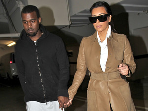 Kim Kardashian and Kanye West leaving a medical building In Beverly HillsFeaturing: Kim Kardashian, Kanye West