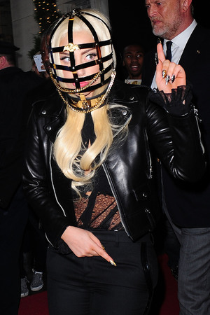 Lady Gaga, headpiece, New York
