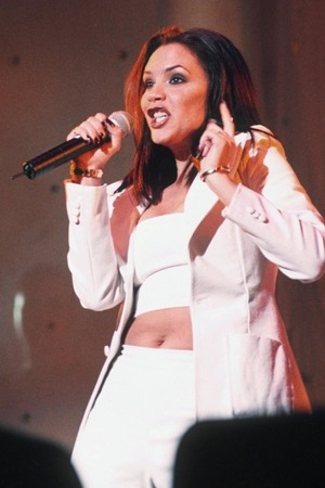 Victoria Beckham, Posh Spice, in the Spice Girls in 1997