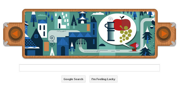 Google Doodle, Grimms Fairy Tales, Little Red Riding Hood