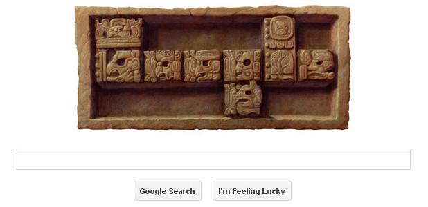 Google Doodle, Mayan Calendar