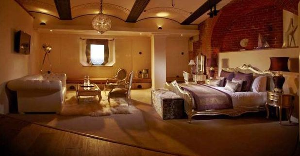 Historic Spitbank Fort, which has been transformed into a luxury hotel, Hampshire