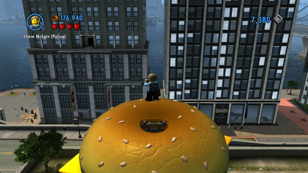 'LEGO City Undercover' screenshot