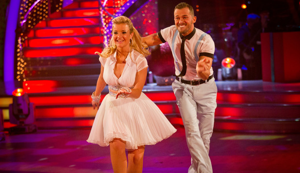 Strictly Come Dancing 2012 Christmas Special: Helen Skelton, Artem Chigvinstev