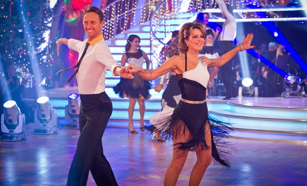 Strictly Come Dancing 2012 Christmas Special: Ian Waite, Natasha Kaplinsky