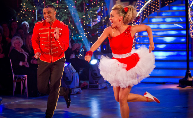 Strictly Come Dancing 2012 Christmas Special: JB Gill, Ola Jordan