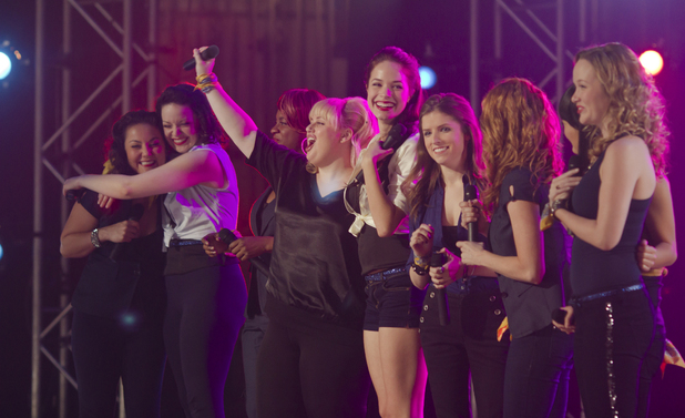 'Pitch Perfect' still: Anna Kendrick and Rebel Wilson