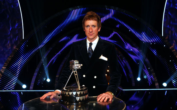Winner of Sports Personality of the Year 2012, Bradley Wiggins during the Sports Personality of the Year Awards 2012, at the ExCel Arena, London