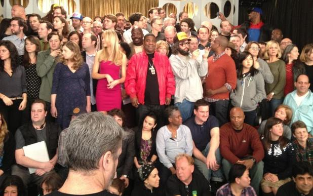 A picture of the cast of the last ever 30 Rock