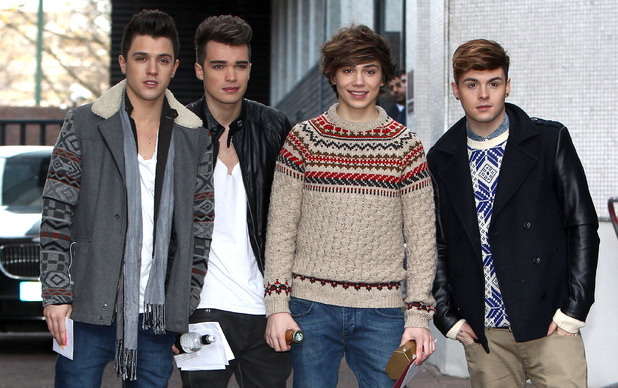 Celebrities at the ITV studiosFeaturing: Jamie Hamblett, Josh Cuthbert, George Shelley, Jaymi Hensley, Union J Where: London, United Kingdom When: 17 Dec 2012 Credit: WENN.com