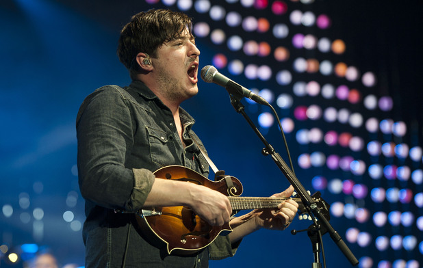 Marcus Mumford of Mumford and Sons