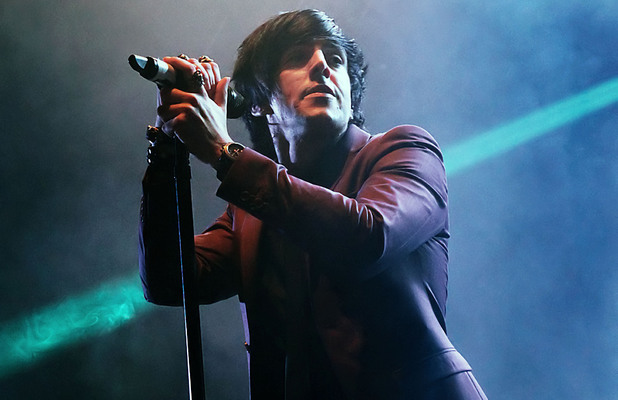 Ian Watkins of the Lostprophets performing at Manchester O2 Apollo Manchster, England - 08.11.12