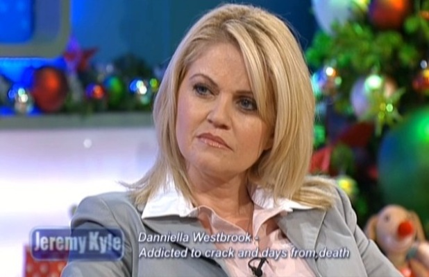 Daniella Westbrook appears on Jeremy Kyle - 19 December 2012