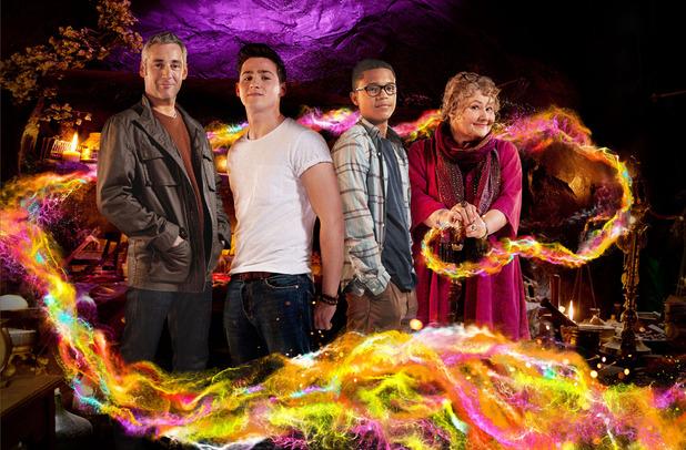 Wizards Vs Aliens: Michael Clarke (MICHAEL HIGGS), Tom Clarke (SCOTT HARAN), Benny Sherwood (PERCELLE ASCOTT), Ursula (ANNETTE BADLAND)