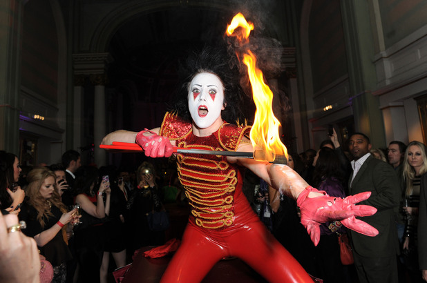Entertainment by Cirque Du Soir