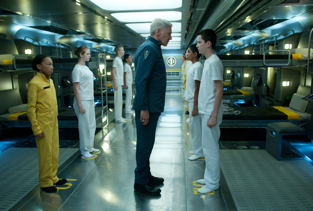 Ender's Game, Harrison Ford, Asa Butterfield