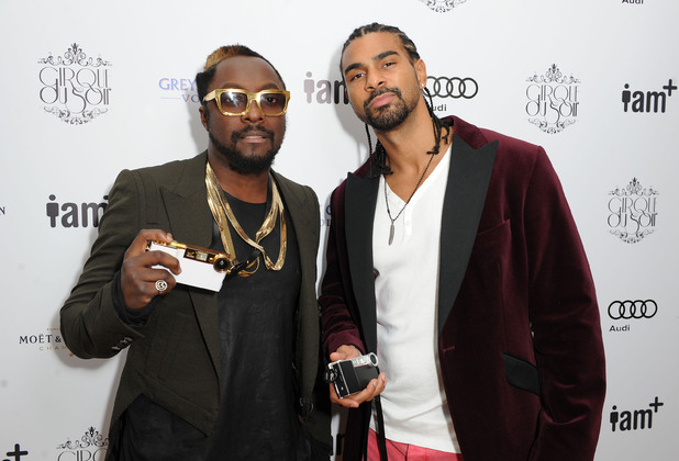 will.i.am and David Haye