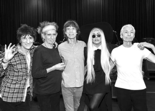 Lady GaGa, Rolling Stones