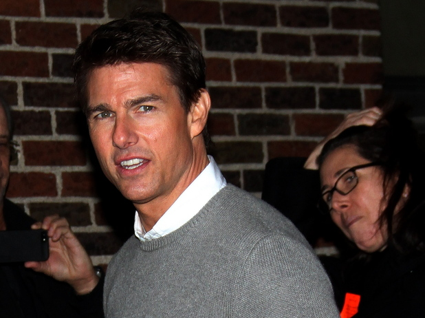 Tom Cruise 'The Late Show with David Letterman' at the Ed Sullivan Theater - Arrivals New York City, USA