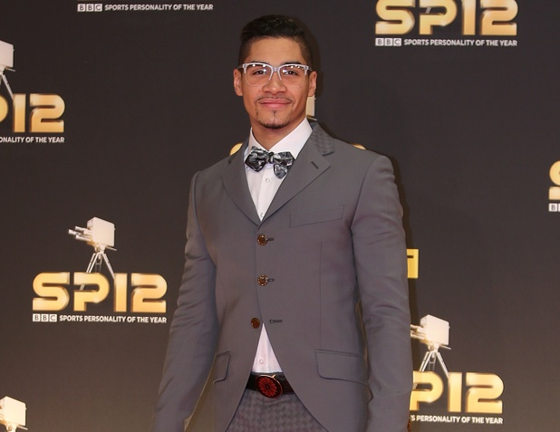 Louis Smith arriving for the Sports Personality of the Year Awards 2012, at the ExCel Arena, London
