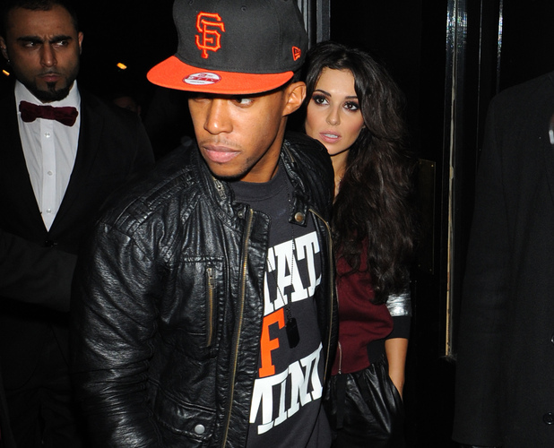Celebrities leaving the Rose ClubFeaturing: Cheryl Cole, Tre Holloway