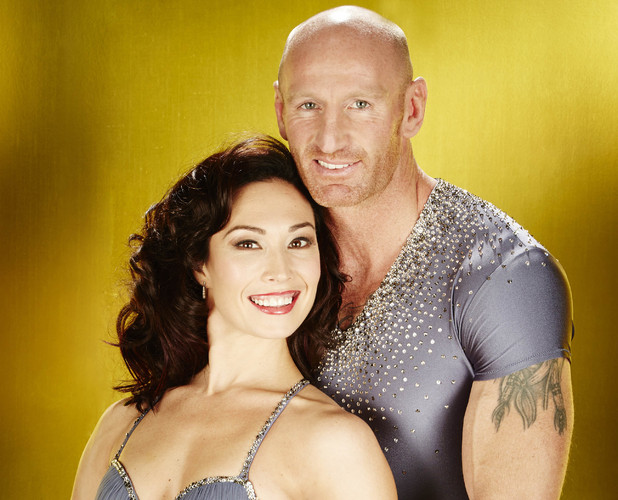 Dancing On Ice 2013:  Gareth Thomas and Robin Johnstone