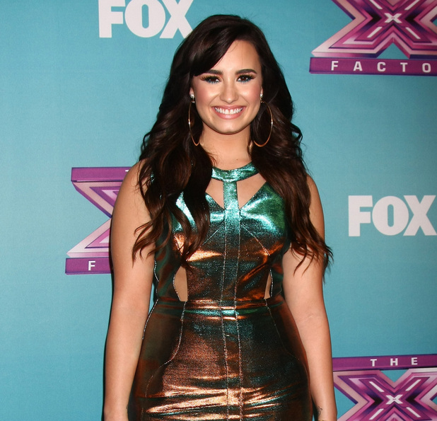 Miss Mode: The &#39;X Factor&#39; Season Finale at CBS Television City - Red Carpet ArrivalsFeaturing: Demi Lovato