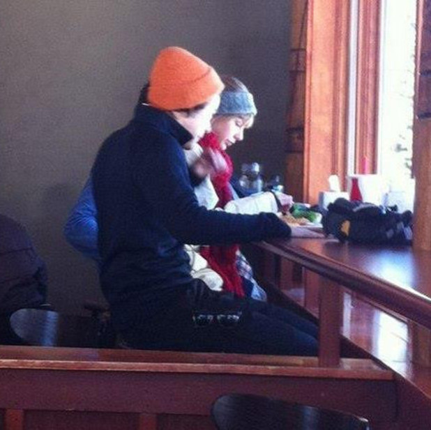 Taylor Swift and Harry Styles together in Utah