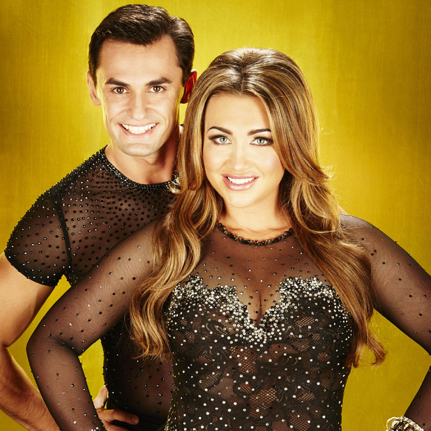 Lauren Goodger and Dancing On Ice partner Michael