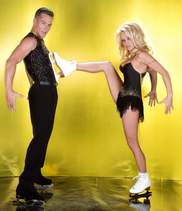 Dancing on Ice 2013: Pamela Anderson and Matt Evers