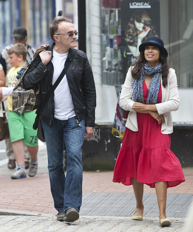 Rosario Dawson, Danny Boyle, weird celebrity couples